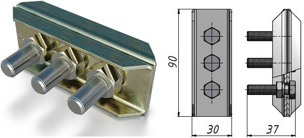 Тросовый зажим К 296